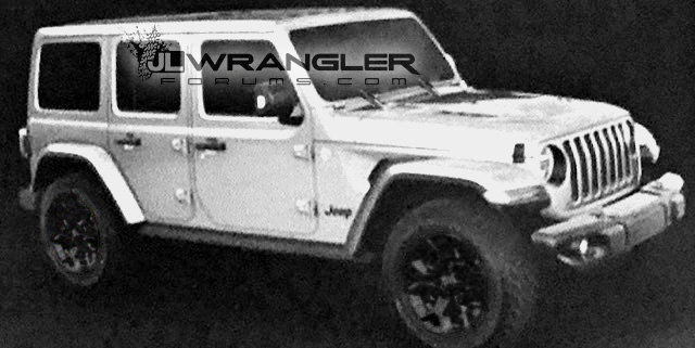 More 2018 Jeep Wrangler JL Details Leak