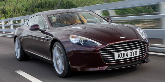 Aston Martin Rapide to be Replaced by EV in 2018