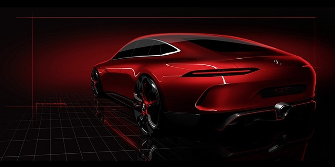 Updated: Mercedes-AMG GT Concept Teased Ahead of Geneva Motor Show