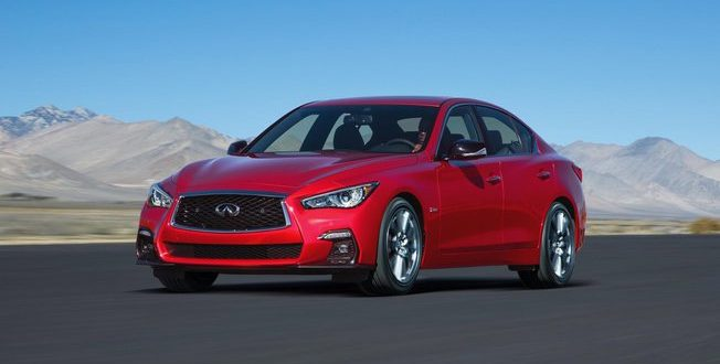 Infiniti Showing Revised Q50 In Geneva