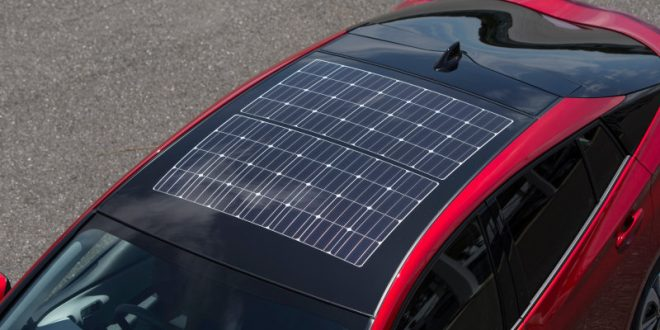 Prius Gains Panasonic Solar Roof
