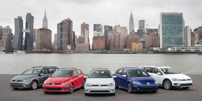 2018 VW Golf Lineup Gets Refreshed