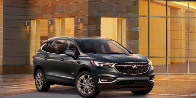 Buick Modernizes Enclave for MY18