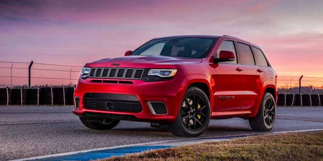2018 Jeep Grand Cherokee Trackhawk Priced