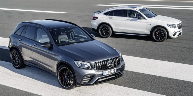 Mercedes-AMG Throws A V8 In The GLC