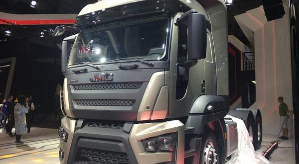 Ford Cargo Heads to China as a JMC