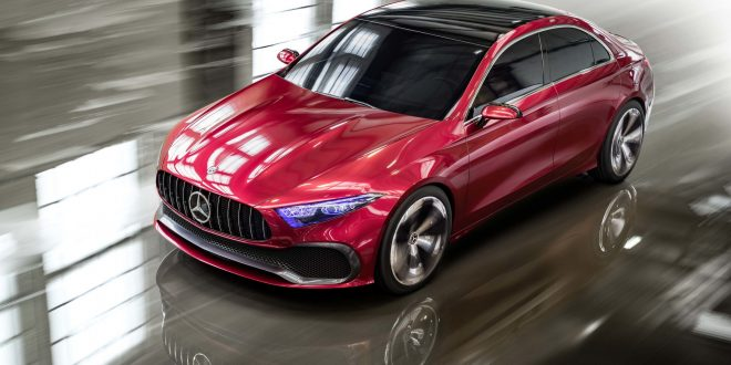 Mercedes-Benz A Class Sedan Coming Stateside