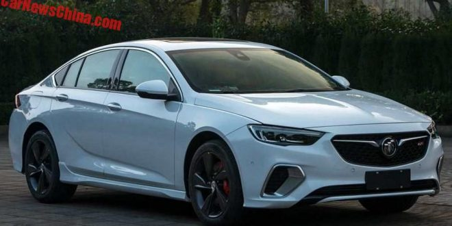 China Leaks Next Buick Regal GS
