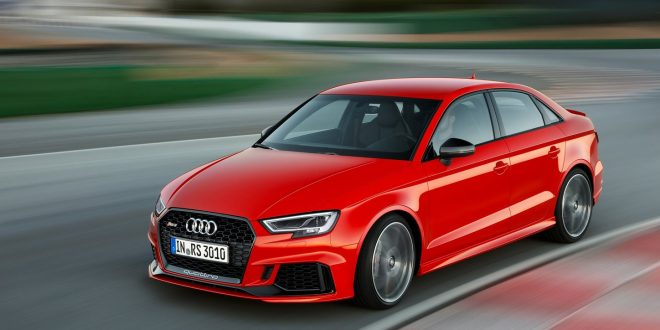 Audi RS 3 Arrives Ashore For $54,500