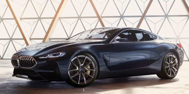 Here's The BMW 8 Series Concept