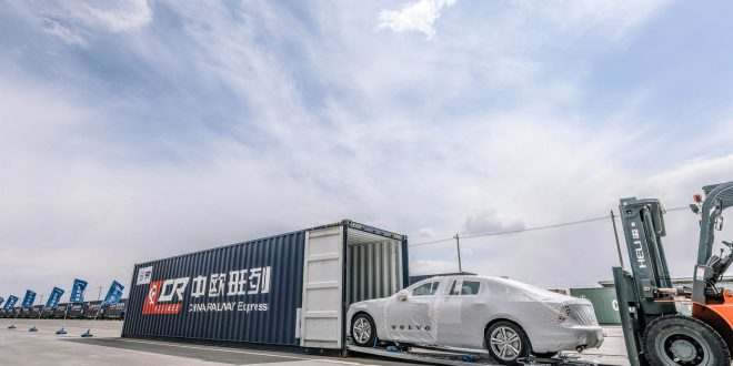 Volvo Begins Shipping S90 From China To Europe