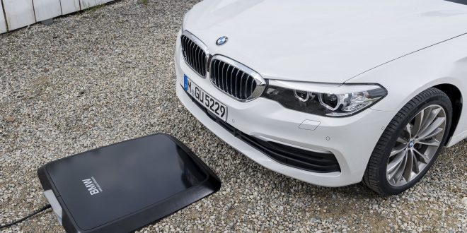 BMW Debuts Wireless Charging For 530e
