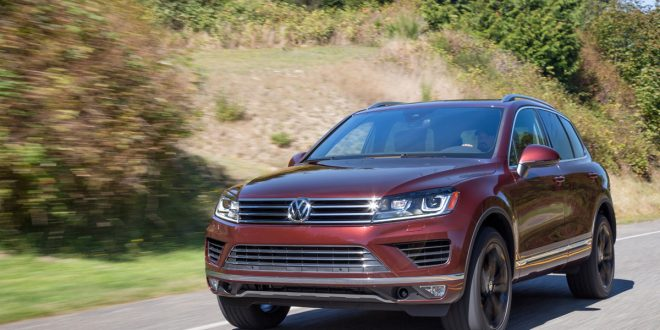 Volkswagen Touareg Pulled From U.S. Lineup