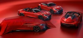 Aston Martin Reveals Stunning Vanquish Zagato Speedster/Teases Shooting Break