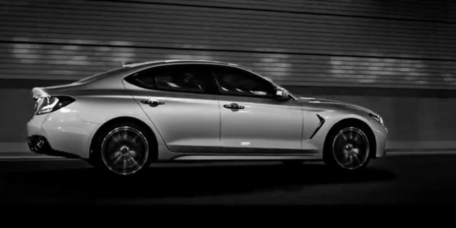 Genesis G70 Accidentally Revealed
