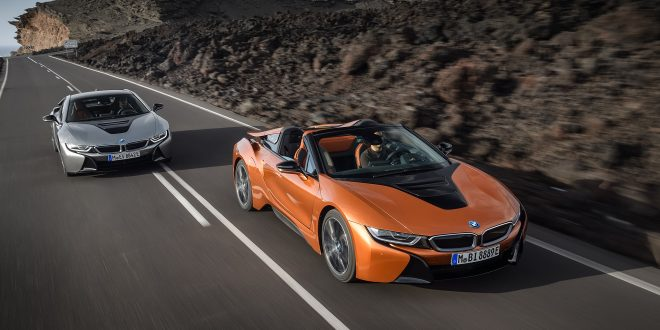2019 BMW i8 Roadster, Revised Coupe Debut