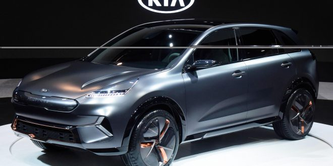 Kia Niro EV Concept Showcases ACE Strategy
