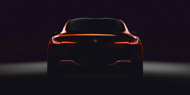 BMW Teases Upcoming 8 Series