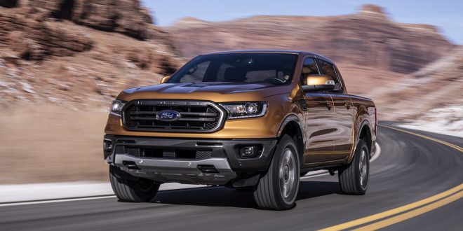 2019 Ford Ranger Debuts With EcoBoost Engine