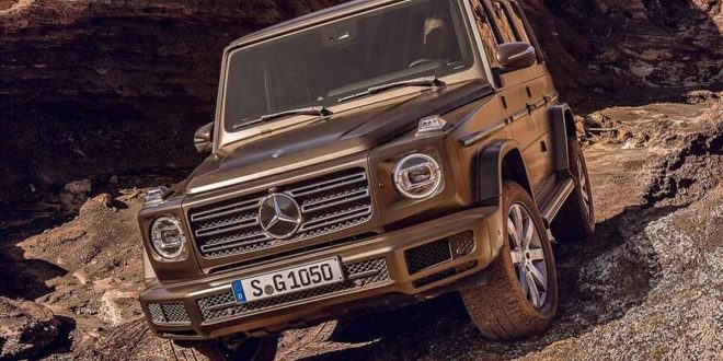 New Mercedes-Benz G Class Leaks Ahead of Detroit Reveal