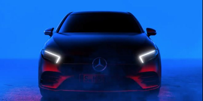 Mercedes-Benz A Class Shows its Face Early