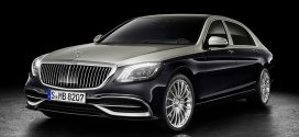 Mercedes Debuts Refreshed Ultraluxury Maybach Sedan