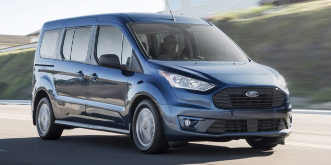 2019 Ford Transit Connect Freshens up, Adds Diesel