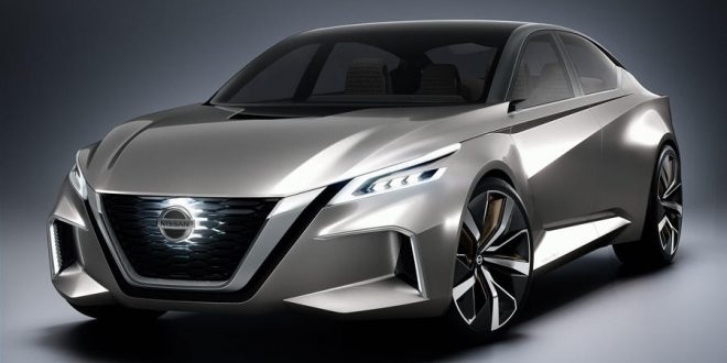Redesigned 2019 Nissan Altima Debuting Next Month