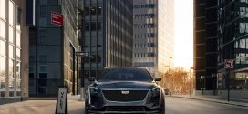 2019 Cadillac CT6 V-Sport Debuts With Revised Styling, Twin-Turbo V-8