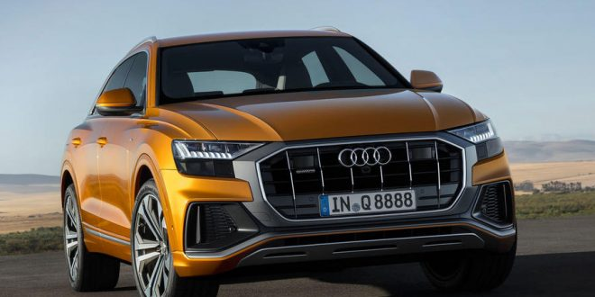 Audi Q8 Sets Sights on Range Rover Sport