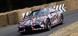 Revived Toyota Supra Prototype Revealed