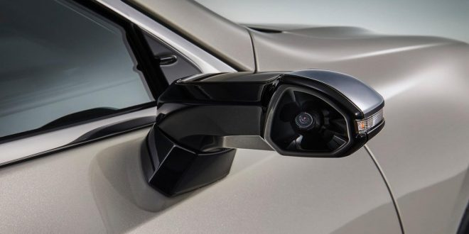Lexus Ditches Side Mirrors on Next ES