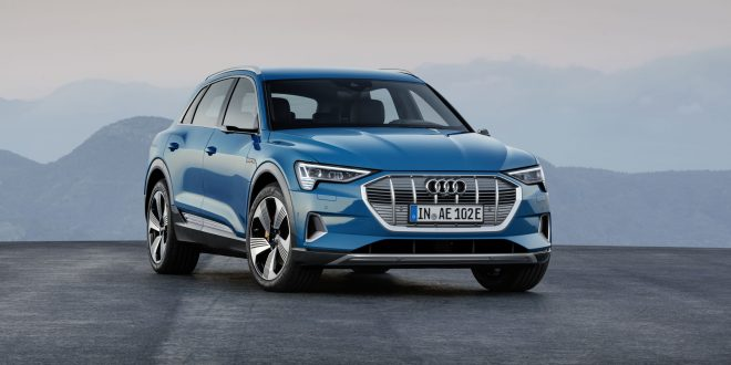 Audi Reveals Electric E-tron Crossover