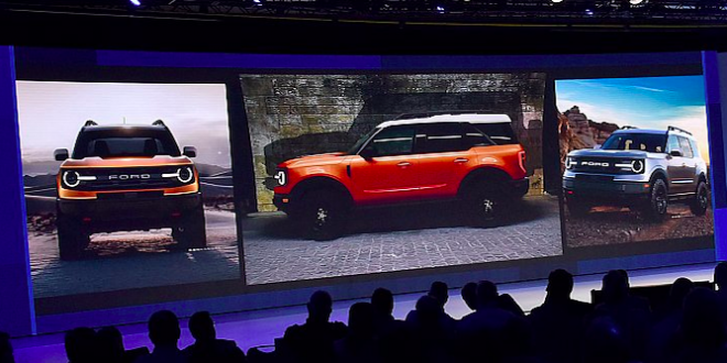 Ford's Baby Bronco Leaks Out