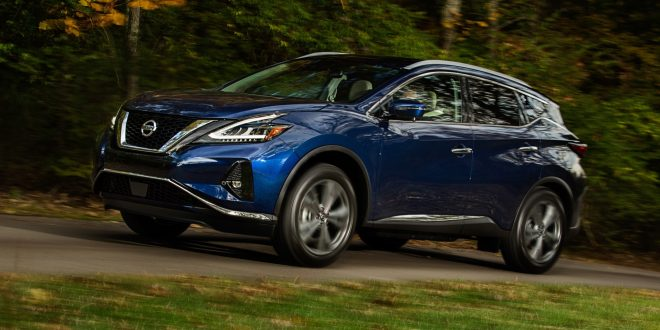 2019 Nissan Murano Tries to Stay Relevant With Refresh