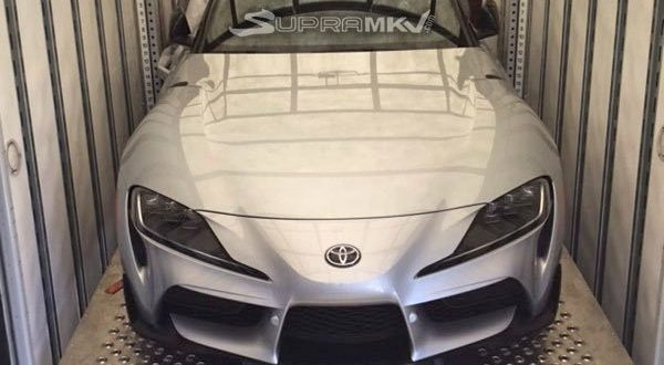 2020 Toyota Supra Leaks for the First Time