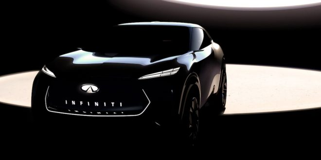 Electric SUV Concept to Preview Infiniti's First EV