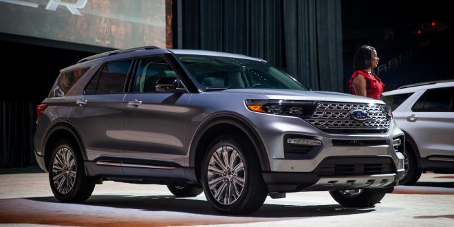 2020 Ford Explorer Debuts Ahead of NAIAS