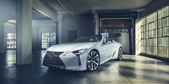 Lexus LC Goes Topless With Detroit-Bound Concept