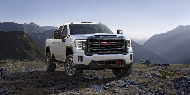 2020 GMC Sierra HD Revealed