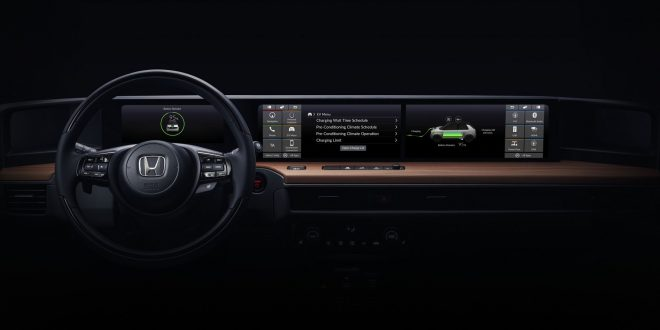 Honda EV Prototype Previews Screen-Laden Dashboard
