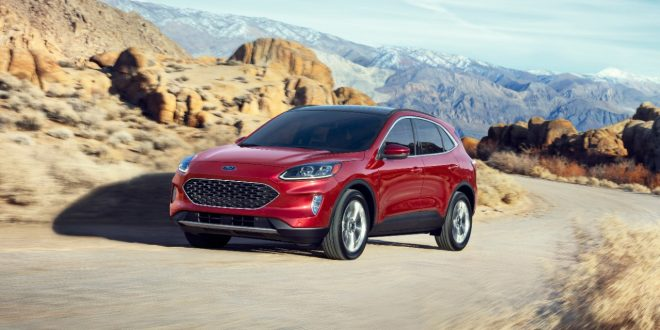 2020 Ford Escape Comes Into Focus