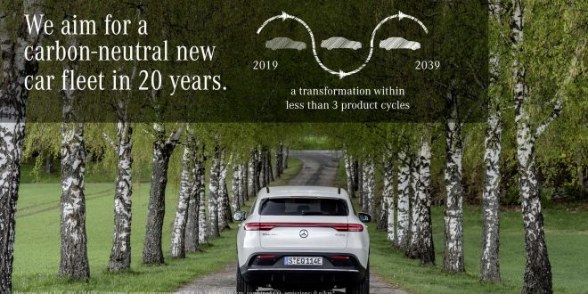 Mercedes-Benz Aims for Carbon Neutrality by 2039
