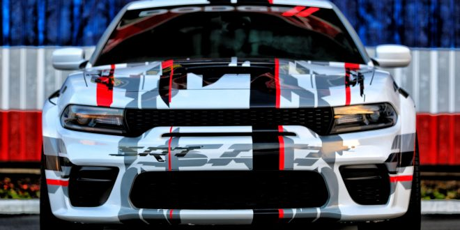 Dodge Teases Charger Widebody