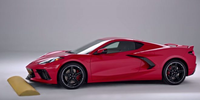 2020 Corvette Avoids Scrapes With High-Tech Hydraulics