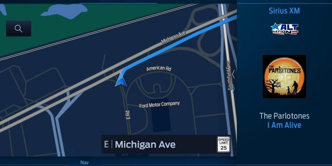 Ford Previews SYNC4 Infotainment System