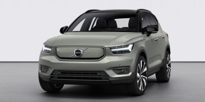 Volvo XC40 Recharge Revealed With 402 HP